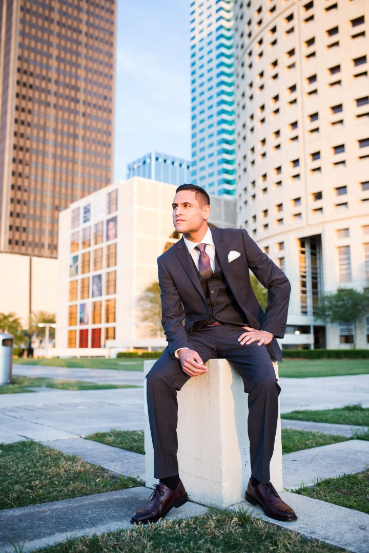 Foundation Christian Academy Senior | Lithia, Florida | Isaiah Class of 2015 | Senior Session at University of Tampa