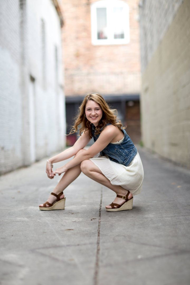 Academy of Holy Names Senior | Carly Class of 2015 | Gianna Grace Photography | Ybor City Session