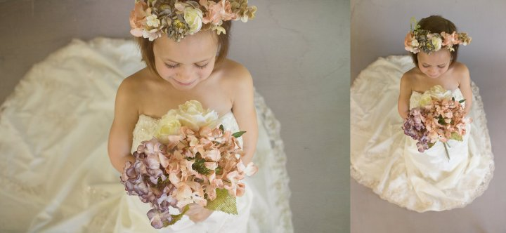 Mom's Wedding Dress Session | Child Photographer | Fine Art Session | Brandon,Florida
