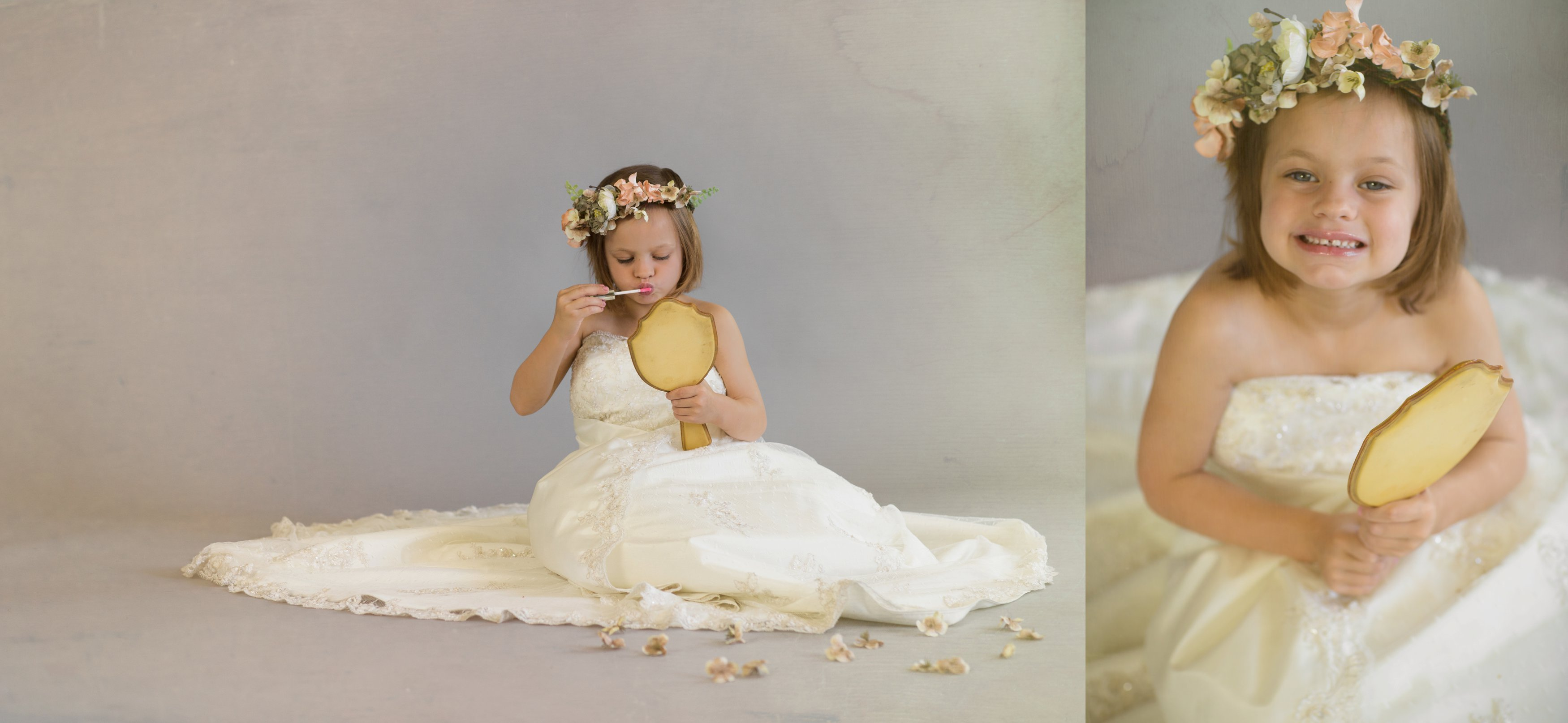 moms wedding dress session child photographer fine art session brandon florida mom's wedding dress 07 27