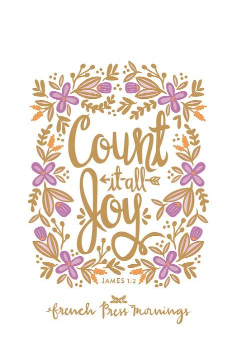 Count it ALL Joy