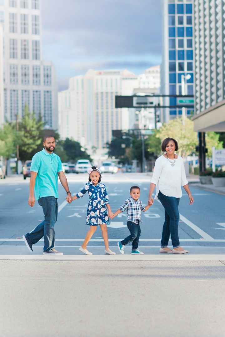 Richmond Family Photographer |Totally Stellar T Fam | Downtown Tampa | Florida Fall Mini Sessions | Midlothian VA
