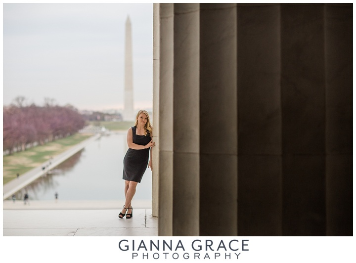 Washington DC Cherry Blossom Senior Session | Richmond VA Photographer | Powhatan High School | Destination Session