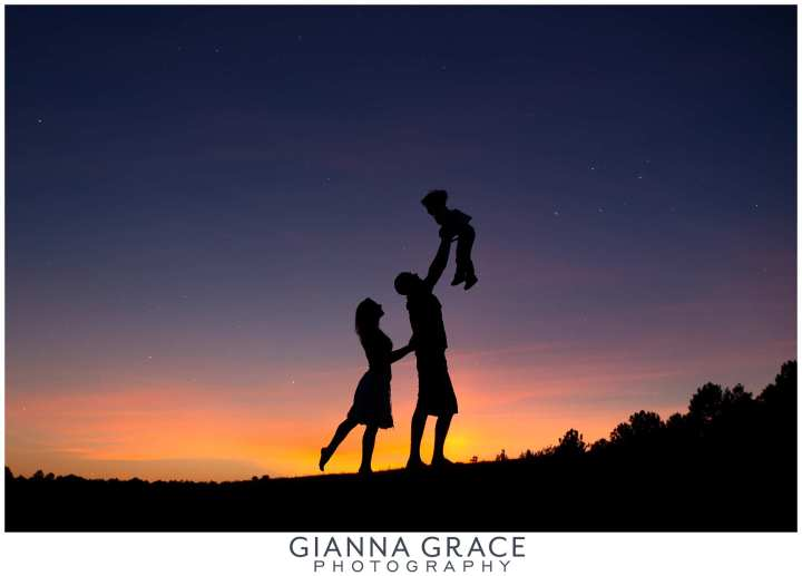 Richmond-Family-Mini-Session-Photographer-Sunset-Silhouette_0001